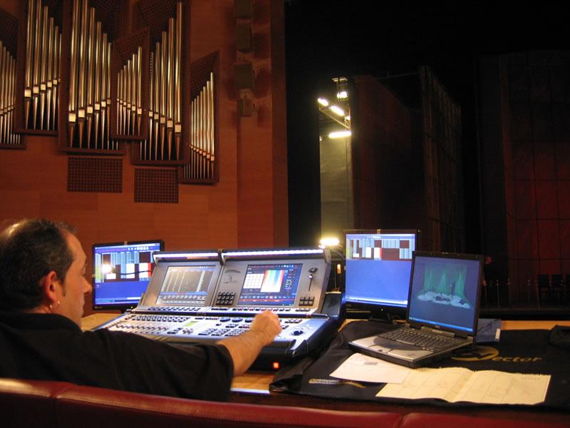 Mesa de Ópera