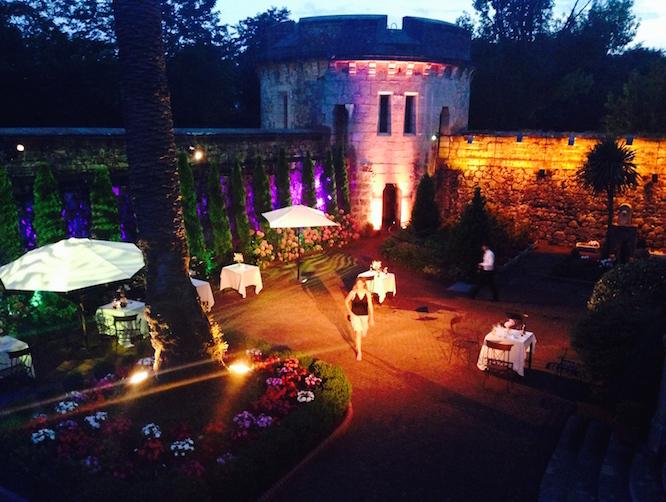 Iluminación Arquitectural en el Castillo de Arteaga