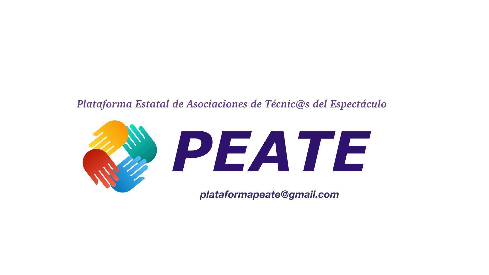 Peate - Plataforma Estatal de Asociaciones de Técnicos del Espectáculo